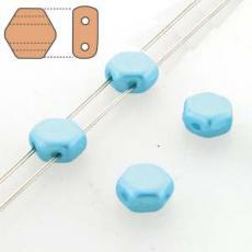 honeycomb gyöngy: pastel aqua 30 db