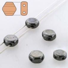 honeycomb gyöngy: hematit 30 db