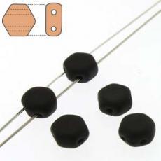 honeycomb gyöngy: telt matt fekete 30 db