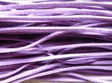 lila hasított műbőr szál 1 m