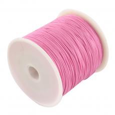 0,8 mm selyemzsinór 1 m rózsaszín