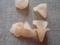 akril virág matt barack/n 10 db