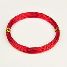 1,0 alumínium drót piros 10 m