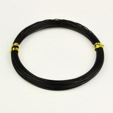 1,0 alumínium drót fekete 10 m