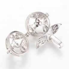 Angyalhívó medál platinum szárnyas kicsi