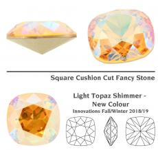 sw square light topaz shimmer 12 mm