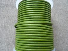 3 mm bőrszál olivin 5 cm