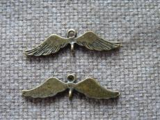 antik réz távtartó szárny