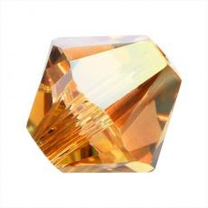 sw bicone 6 mm: metallic sunshine