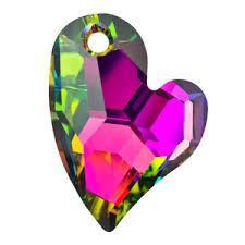 sw6261 szív függő vitrail medium