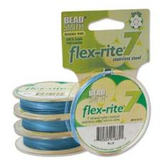 flex-rite 0,35 mm sötét türkizkék tekercs