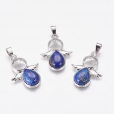 lápisz lazuli angyalka medál