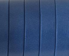 10 mm bőr karkötő alap tengerészkék 1 cm