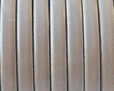5 mm bőr karkötő alap metál fehér 20 cm