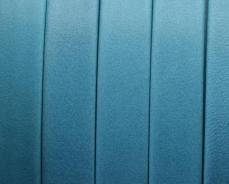 10 mm bőr karkötő alap türkizkék 1 cm