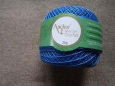 Anchor horgolócérna 40-es kék 20 gr