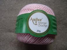 Anchor horgolócérna 40-es rózsaszín 20 gr