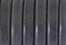 bőr karkötő alap sötétszürke 1 cm