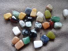 ásvány tégla medál achát másodosztályú