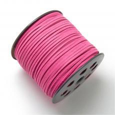 pink hasított műbőr szál 5 m