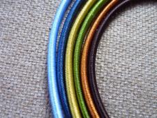 3 mm-es nyaklánc alap világos oliva