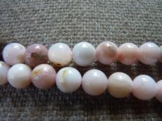 pink opál/rózsaopál 8 mm