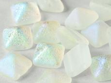 dupla lyukú préselt pyramid crystal etched AB full