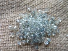 cseh bichon 3 mm kristály-blue lagoon 20 db