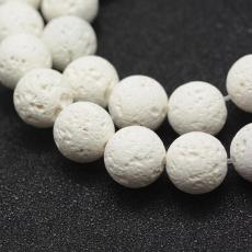 fehér lávakő 8 mm