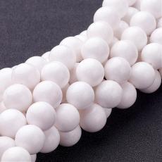 fehér jade utánzat 12 mm szál