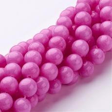 erős pink jade utánzat 12 mm