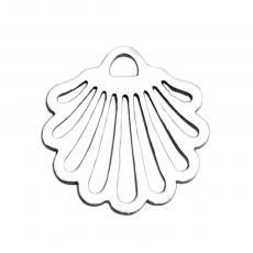 kagyló medál vagy fityegő rozsdamentes acél