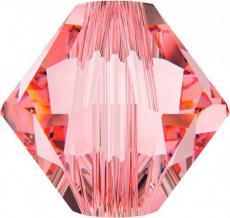 sw bicone 6 mm: rose peach Xilion