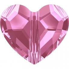 5741 szív gyöngy 8 mm: rose