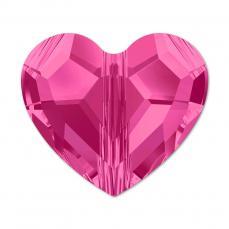 5741 szív gyöngy 8 mm: fuchsia