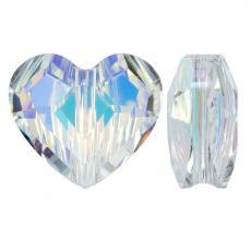 5741 szív gyöngy 8 mm: crystal AB