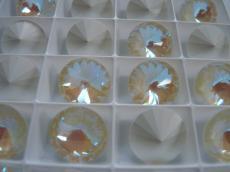 sw rivoli crystal light grey DeLite 14 mm