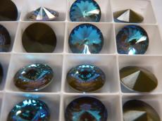sw rivoli crystal army green DeLite 12 mm