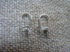 kicsi kampós fülbevaló alap 925 1 pár
