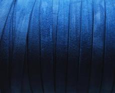 10 mm velúrbőr karkötő alap sötétkék 1 cm
