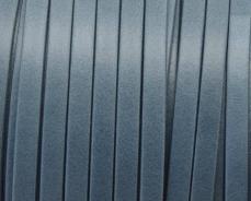 5 mm bőr karkötő alap matt farmerkék 20 cm