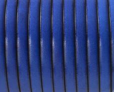 5 mm bőr karkötő alap sötét királykék 20 cm