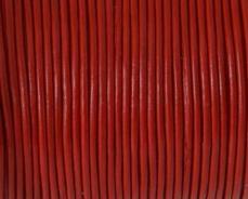 piros gömbölyített bőrszál 1 mm