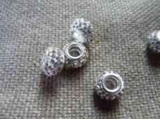 pandora shamballa gyöngy fehér-kristály