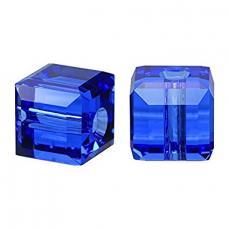 5601 kocka gyöngy 6 mm: sapphire