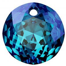 6430 kerek medál bermuda blue 10 mm