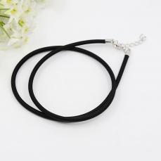 3 mm-es nyaklánc alap fekete