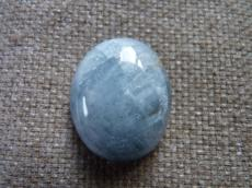 aquamarine ovális kabochon 1