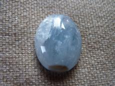 aquamarine ovális kabochon 2