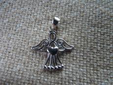 filigrán angyalka medál 925